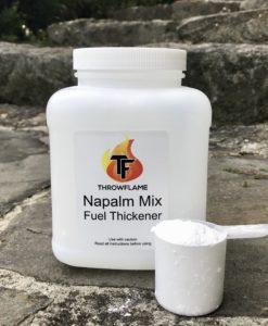 Fuel Thickening Powder. Napalm Mix