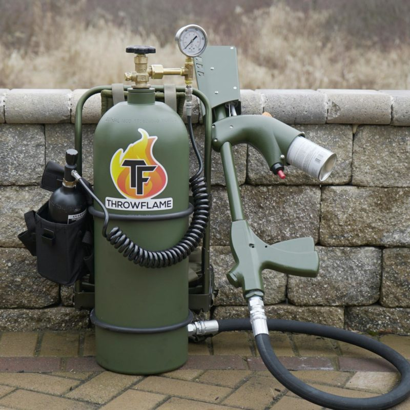 XL18 Flamethrower outside